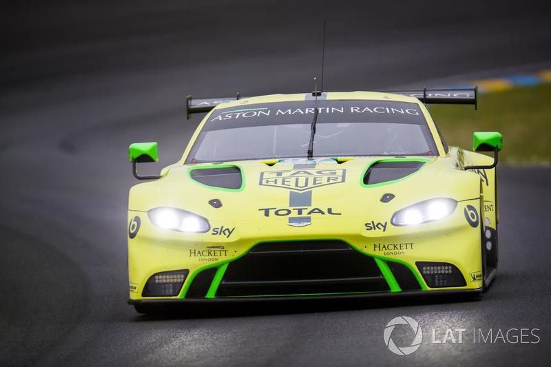 50: #97 Aston Martin Racing Aston Martin Vantage AMR: Alex Lynn, Maxime Martin, Jonathan Adam, 3'52.486