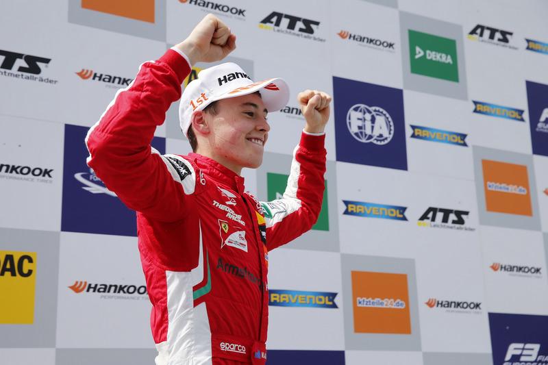 Podium : Le vainqueur Marcus Armstrong, PREMA Theodore Racing Dallara F317 - Mercedes-Benz