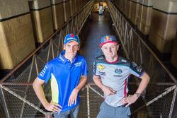 Jack Miller, Estrella Galicia 0,0 Marc VDS, et Alex Rins, Team Suzuki MotoGP, visitent le Old Melbourne Gaol