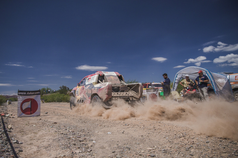 #301 Toyota Gazoo Racing Hilux: Нассер Аль-Аттія, Маттьйо Бомель