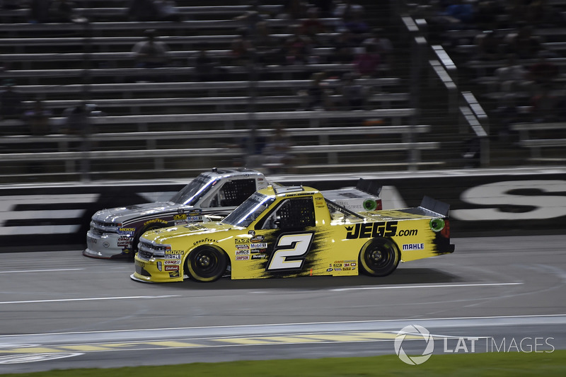 Cody Coughlin, GMS Racing, Chevrolet Silverado Jeg's.com, Austin Hill, Young's Motorsports, Chevrolet Silverado United Rentals
