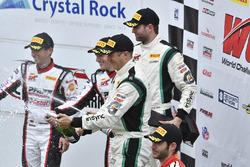#24 Alegra Motorsports Porsche 911 GT3 R: Michael Christensen, Spencer Pumpelly, #96 Pfaff Motorsports Porsche 911 GT3 R: Scott Hargrove, Wolf Henzler