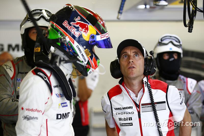 Brendon Hartley, Timo Bernhard, Porsche Team