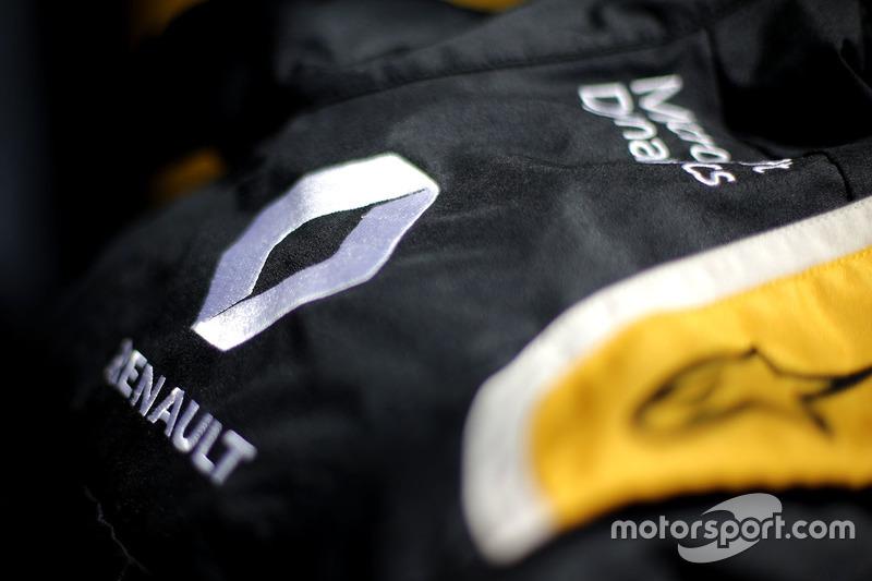 Renault Sport F1 Team race suit detail