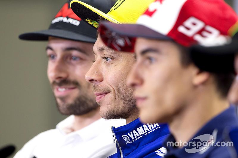 Eugene Laverty, Aspar Racing Team, Valentino Rossi, Yamaha Factory Racing, Marc Marquez, Repsol Honda Team