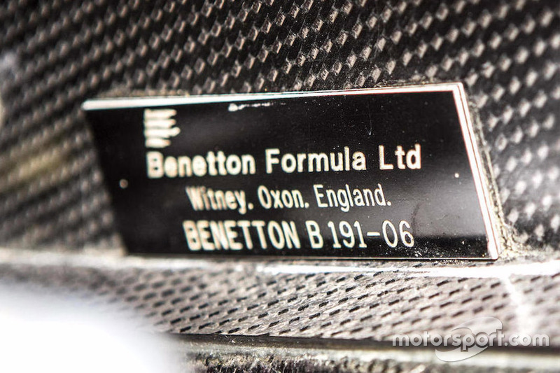 Benetton-Ford B191/191B, Chassis-Nummer B191-06