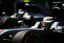 Lewis Hamilton, Mercedes AMG F1 W07 Hybrid y Nico Rosberg, Mercedes AMG F1 W07 Hybrid