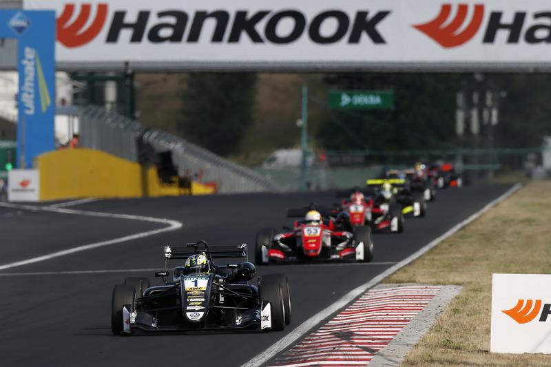 Joel Eriksson, Motopark, Callum Ilott, Prema Powerteam, Guanyu Zhou, Prema Powerteam, Lando Norris, Carlin