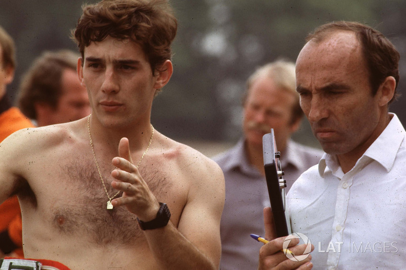 Ayrton Senna és Frank Williams