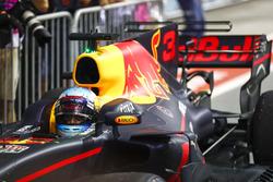 Second place Daniel Ricciardo, Red Bull Racing RB13