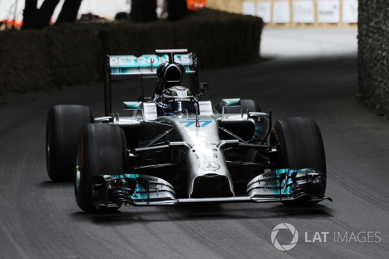 Валттери Боттас, Mercedes AMG F1 W05 Hybrid
