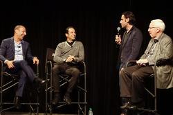 Tony Kanaan und Helio Castroneves feiern ihr 20-jähriges IndyCar-Jubiläum mit Dario Franchitti und Gary Gerould