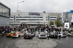 Timo Glock, BMW Team RMG; Augusto Farfus, BMW Team RMG; Marco Wittmann, BMW Team RMG; Tom Blomqvist, BMW Team RBM; Bruno Spengler, BMW Team RBM; Maxime Martin, BMW Team RBM