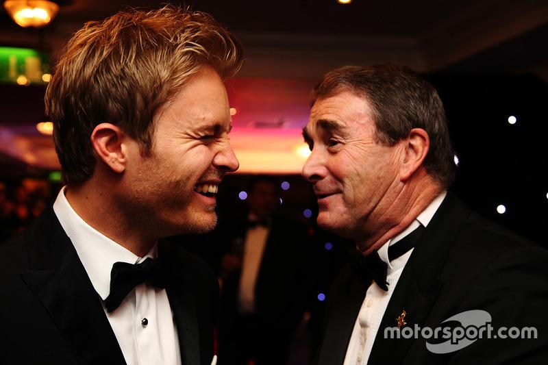 Campeón del mundo, Nico Rosberg, Mercedes AMG F1, Nigel Mansell