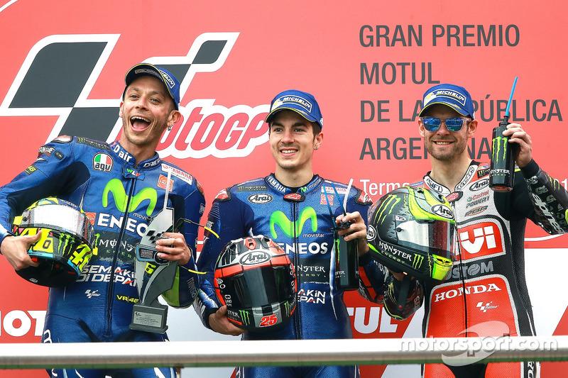 Друга перемога сезону для Мака та другий подвійний подіум Yamaha