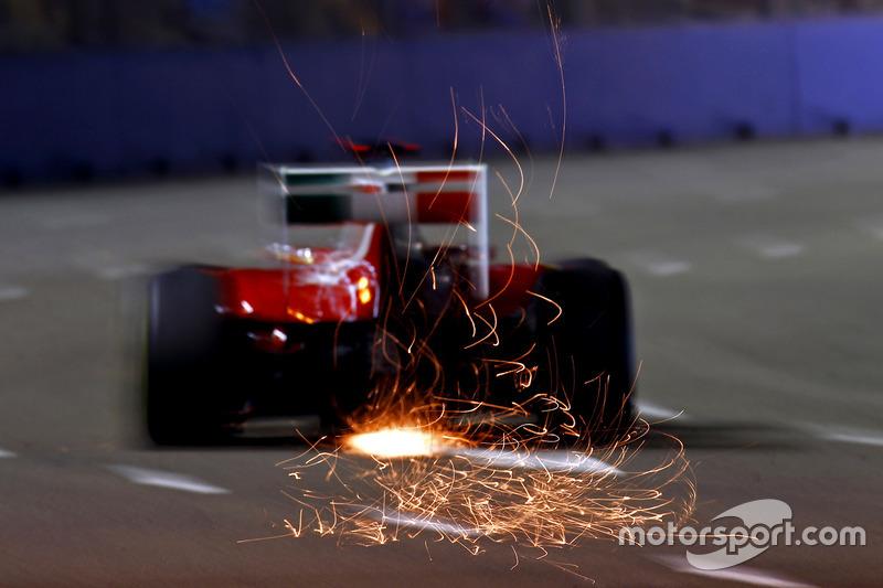 F1, Singapur 2011: Fernando Alonso, Ferrari 150° Italia