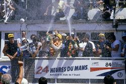 1. Klaus Ludwig, Henri Pescarolo, Porsche 956