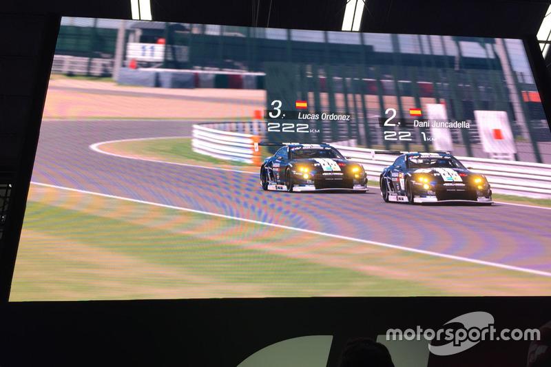 Exhibición del GT Sport del Barcelona Games World