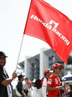 Bandera de Honda