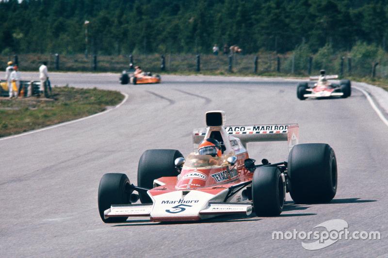 McLaren, 1974: Emerson Fittipaldi e Denny Hulme