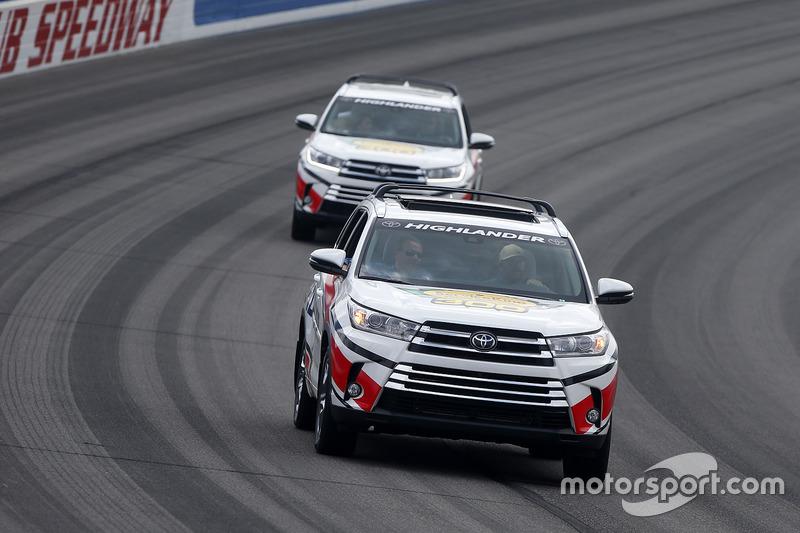 Streckenfahrzeuge: Toyota Highlander