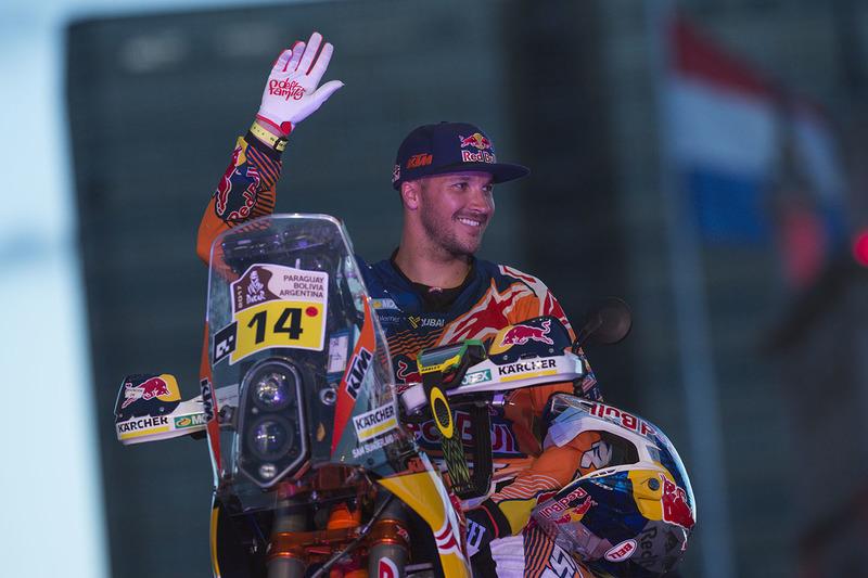 #14 Red Bull KTM Factory Team: Sam Sunderland