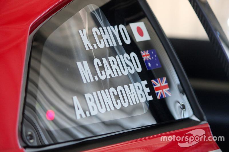Nissan Motorsports GT-R NISMO GT3 detalle
