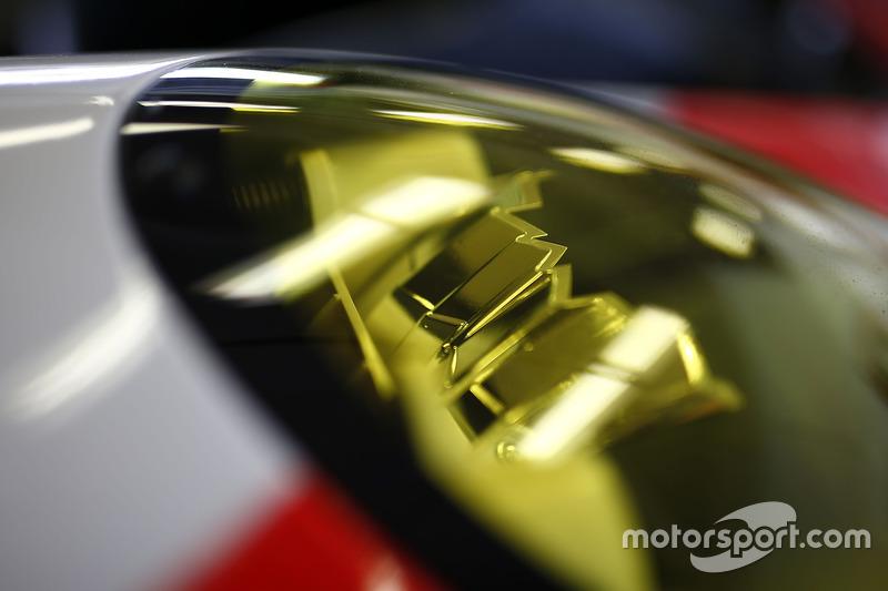 #912 Porsche Team North America Porsche 911 RSR: Kevin Estre, Laurens Vanthoor, Richard Lietz, detail