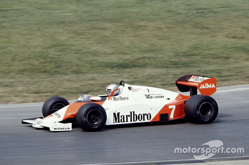 John Watson, McLaren MP4/1E TAG Porsche