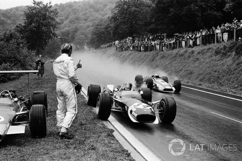 Graham Hill und Jo Siffert, Lotus
