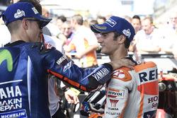Ganador, Maverick Viñales, Yamaha Factory Racing, tercero, Dani Pedrosa, Repsol Honda Team