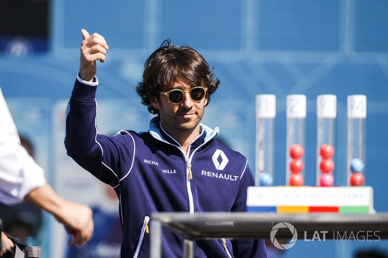 Nelson Piquet Jr., NEXTEV TCR Formula E Team, en la lotería de calificación