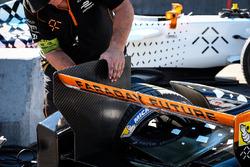 Ajustes realizados en el coche de Loic Duval, Dragon Racing