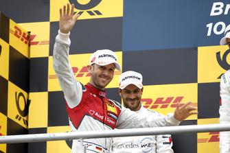 Podio: tercero, René Rast, Audi Sport Team Rosberg