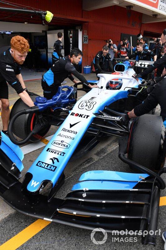 Джордж Расселл, Williams FW42 Mercedes