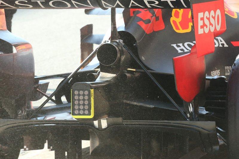 Diffuseur de la Red Bull RB15