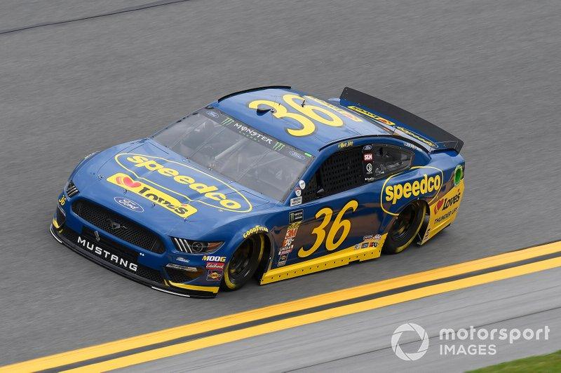 #36: Matt Tifft, Front Row Motorsports, Ford Mustang