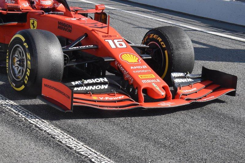Переднє антикрило Ferrari SF90