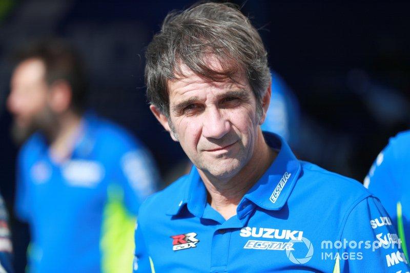 Давіде Брівіо, керівник команди Suzuki MotoGP