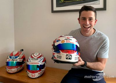 Tony D'Alberto helmet recovery