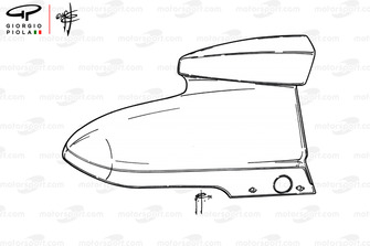 McLaren M23, airbox