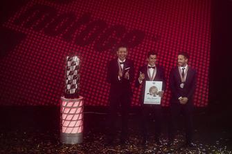 Валентино Росси, Yamaha Factory Racing, Марк Маркес, Repsol Honda Team, и Андреа Довициозо, Ducati Team