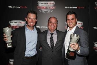 TPNAEC ganadores Joey Hand, Mike O'Gara, Dirk Müller