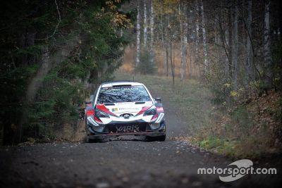 Meeke Toyota Finlandiya testi