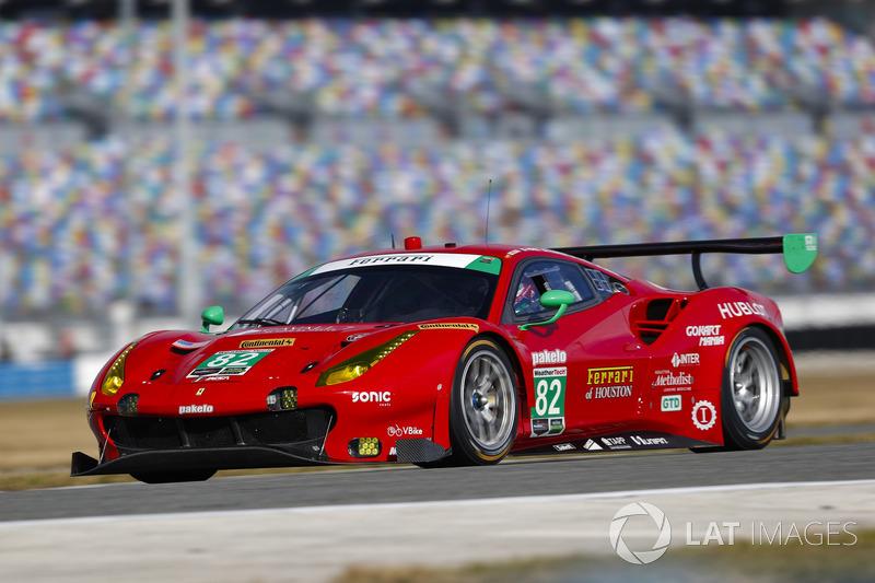 31.- #82 Risi Competizione Ferrari 488 GT3, GTD: Ricardo Perez de Lara, Martin Fuentes, Santiago Creel, Miguel Molina, Matt Griffin