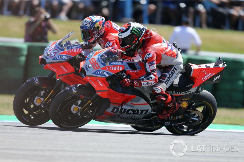 Ducati Desmosedici 2018 - Jorge Lorenzo ve Andrea Dovizioso
