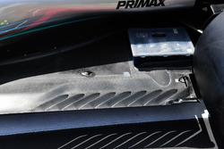 Fond plat arrière de la Mercedes-AMG F1 W09