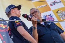 Max Verstappen and Olav Mol