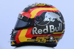 Casco de Carlos Sainz Jr., Renault Sport F1 Team