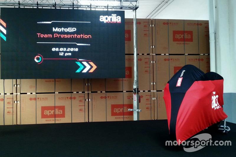 Presentación Aprilia Racing Team